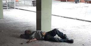 Persona que convalecía en edificio La Lonja ya está en un hospital