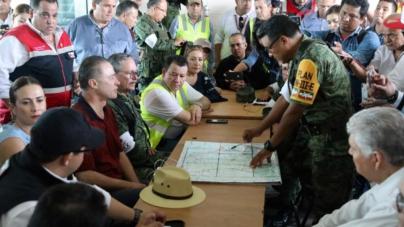 'La prioridad es llevar alimentos a la población incomunicada': Quirino Ordaz
