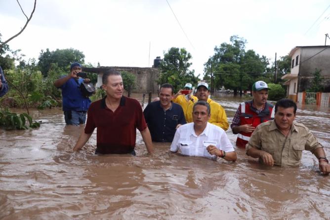 En Sinaloa, más presupuesto a partidos que a la atención a desastres naturales | Data ESPEJO