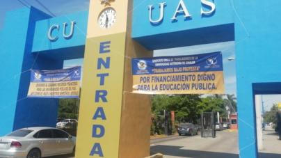 Sindicalizados de la UAS trabajan bajo protesta e instalan Consejo Estatal de Huelga