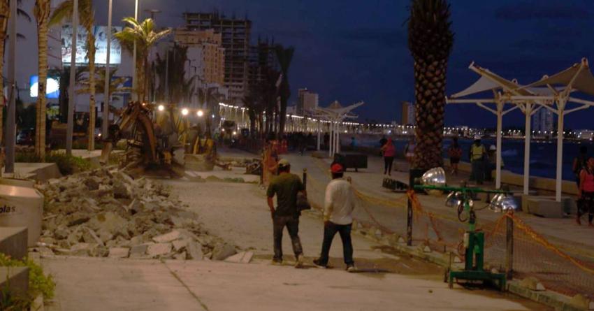Efecto ESPEJO | Fallas en obras del Malecón de Mazatlán, ineptitudes compartidas