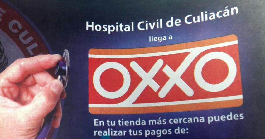 Oxxo se alía con Hospital Civil de Culiacán para permitir pago de trámites y servicios