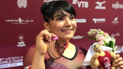 Alexa tiñe de bronce las burlas y consigue una medalla histórica para México