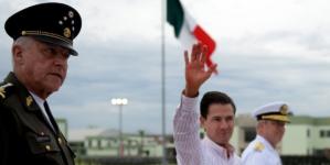 Entrega Peña Nieto en Sinaloa base militar El Sauz en su última gira presidencial