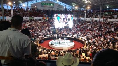 Informe de Gobierno en el Palenque | 'Me da gusto estar en un escenario como uno es': Quirino