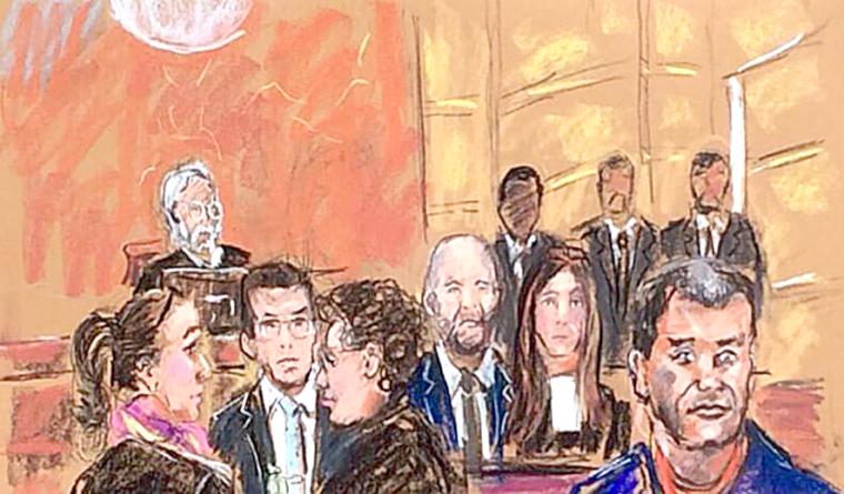 Listo el jurado para el juicio del Chapo Guzmán