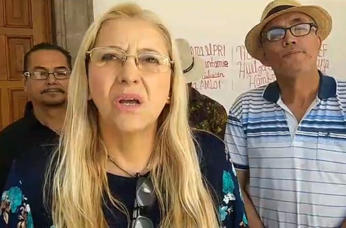 'Huelga no es por puestos, es por erradicar al PRI del Ayuntamiento': María Antonieta Rojo