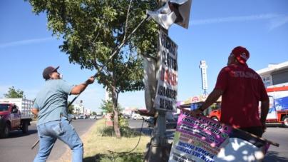 Va Ayuntamiento contra la contaminación visual en Culiacán