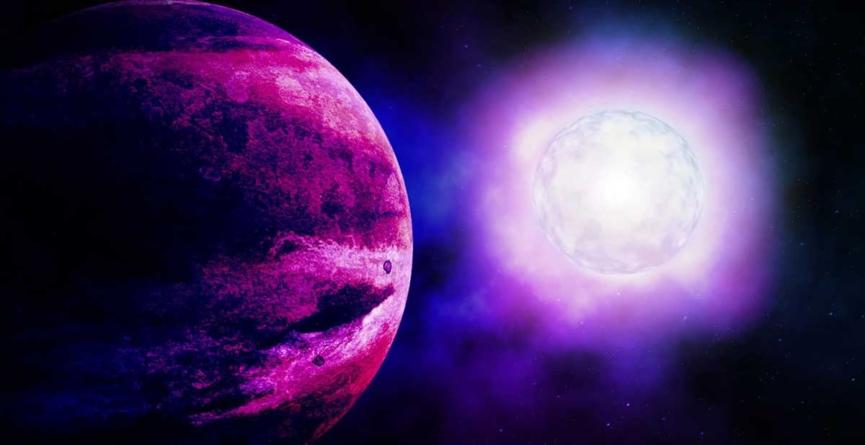 La vida extraterrestre podría ser púrpura