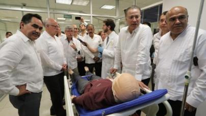 Inauguran el Centro de Simulación Clínica de la Facultad de Medicina de la UAS