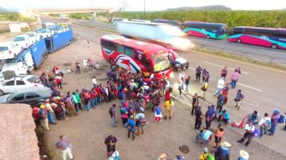 Pasan migrantes por Sinaloa | 'No deben tratarse como papa caliente': Merary Villegas