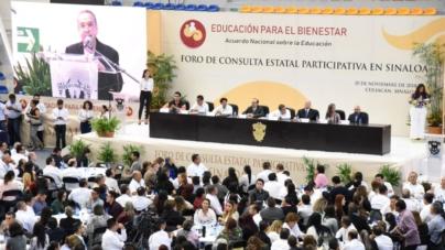 Realizan en la UAS Foro Educativo convocado por equipo de transición de AMLO