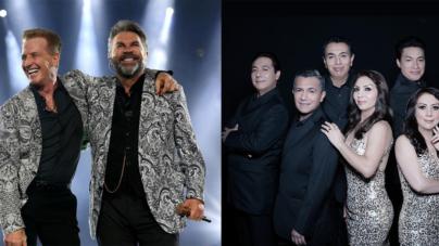 Emmanuel & Mijares y Los Ángeles Azules amenizarán las coronaciones del Carnaval Internacional de Mazatlán 2019