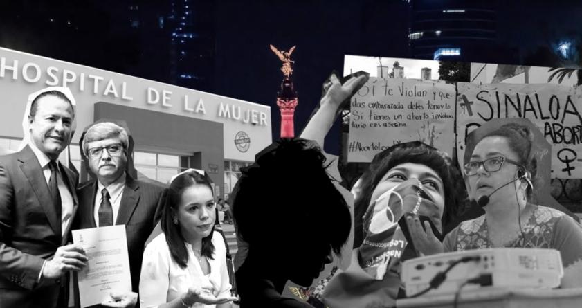 Apoyo simulado, inútil y violento | Menor víctima de violación se va de Sinaloa a practicarse aborto legal