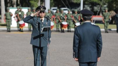 Maximiliano Cruz Ramos es el nuevo comandante de la Novena Zona Militar