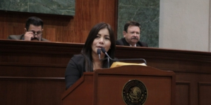 Rechaza Morena amenazas contra diputada por tema de 'coutas liga'