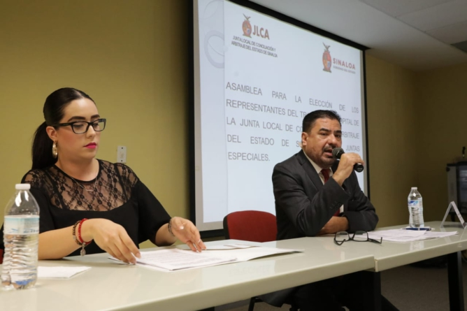En Sinaloa existe un gobierno garante de paz laboral: Hariz Piña