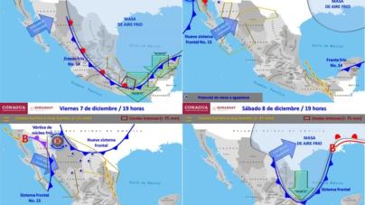 Lloverá muy fuerte en Sinaloa durante los próximos días, advierte la Conagua