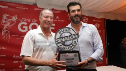 Quirino Ordaz inaugura torneo de golf Puro Sinaloa en Mazatlán