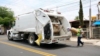 Por celebración de Año Nuevo, Ayuntamiento adelanta los días de recolección de basura
