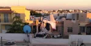 Vecino del Rincón Real narra los primeros minutos luego del avionetazo en Culiacán