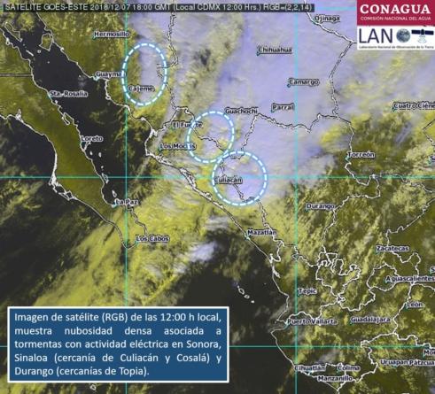 Ya son nueve municipios con suspensión de clases debido a las lluvias en Sinaloa