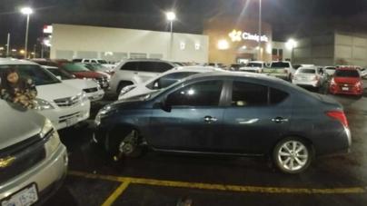 Va a Cinépolis, le roban llanta en el estacionamiento y la empresa no responde