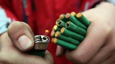Menor de Tacuichamona pierde dos dedos por accidente con pirotecnia
