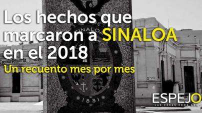 Los hechos que marcaron a Sinaloa en el 2018 | Un recuento mes por mes
