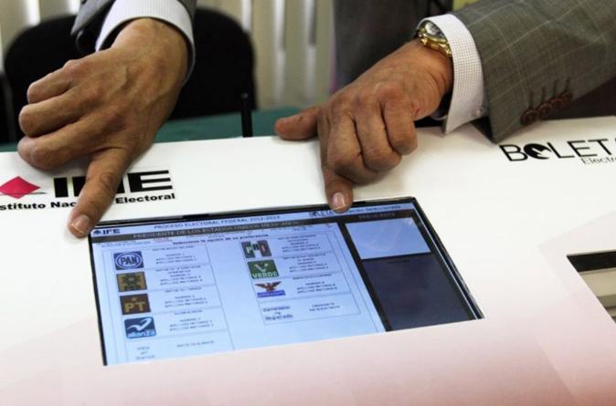 Se realizarán las primeras pruebas de voto electrónico en México durante 2019