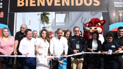 Inauguran expodeportiva del Maratón Internacional de Culiacán