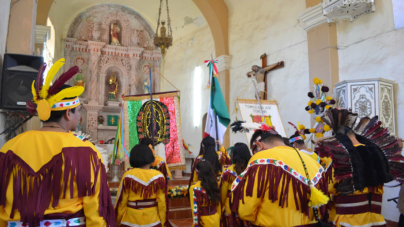 Con corazón totorame y cabeza de español, Chametla celebra 488 años de mestizaje en Sinaloa