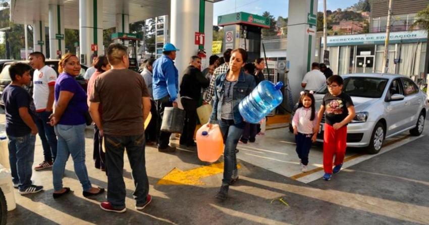 Desabasto de gasolina puede poner en riesgo la salud y la vida