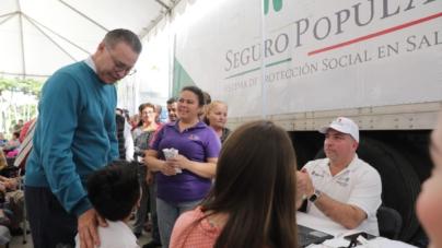 """Más de 60 mil servicios otorgados durante las Jornadas de Apoyo """"Puro Sinaloa"""""""