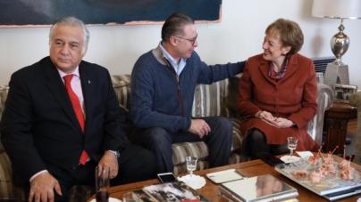 Se reúne Quirino en Madrid con titulares de Turismo de México y España