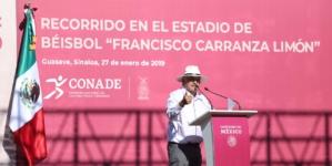 Gira AMLO  | Anuncia López Obrador regreso de Algodoneros de Guasave a la LMP