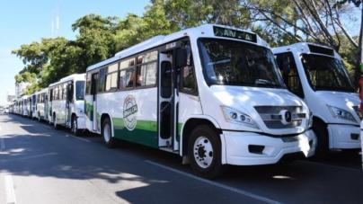 Sustituyen 100 camiones urbanos; tendrán GPS, videocámaras y botón de pánico