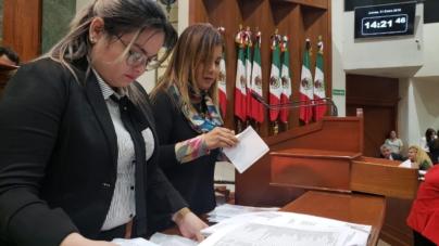 Cierran primer periodo ordinario de sesiones; diputados locales se toman receso