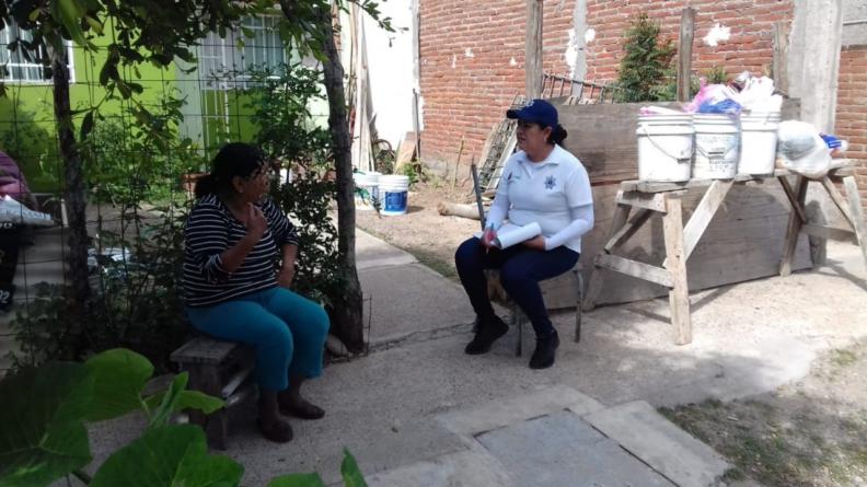 Promotores de bienestar | Secretaría de Seguridad sondea colonias en busca de problemáticas