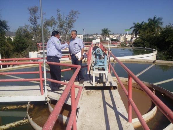 Supervisan proceso de producción de agua en Japac