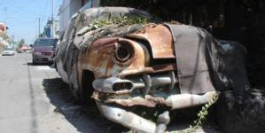"""Asegura Ayuntamiento de Culiacán seis autos """"chatarra"""" de las calles en la primera semana del año"""