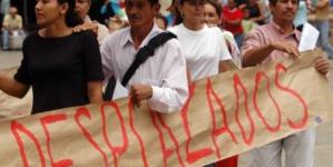 Hay más de 2 mil sinaloenses desplazados por la violencia: Sedesol