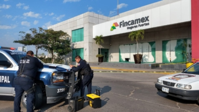 Balean oficinas de Fincamex en Culiacán