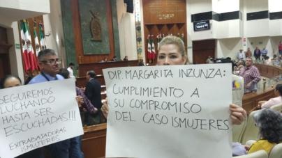 Extrabajadoras de Ismujeres exigen liquidación conforme a la ley