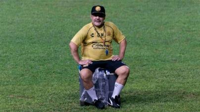 Presentan nuevo uniforme de Dorados de Sinaloa en honor a Maradona