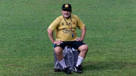 ¿Regresará Maradona a Dorados de Sinaloa?