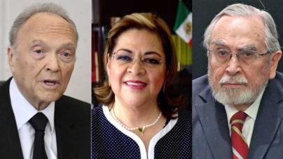 Bátiz Vázquez, De Gyvés Zárate y Gertz Manero: la terna para Fiscal General