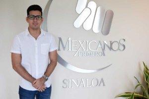 Daniel Rodríguez. Mexicanos Primero Sinaloa.