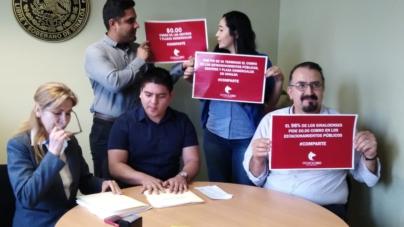 Presentan diputados iniciativa de ley para eliminar el cobro en estacionamiento de plazas comerciales