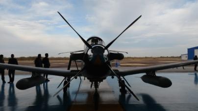 Festejan los 104 años de la Fuerza Aérea